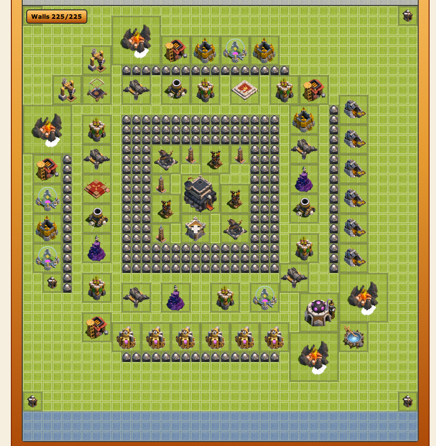 clash of Clans contruir base