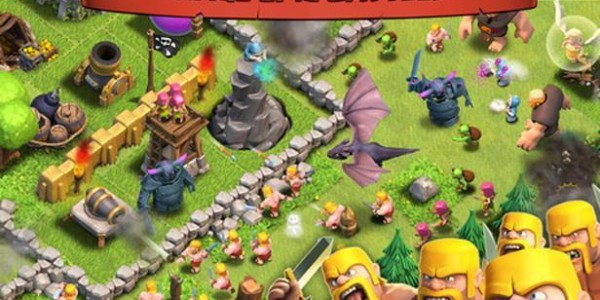 Jugar Clash of Clans en el iPhone y iPad