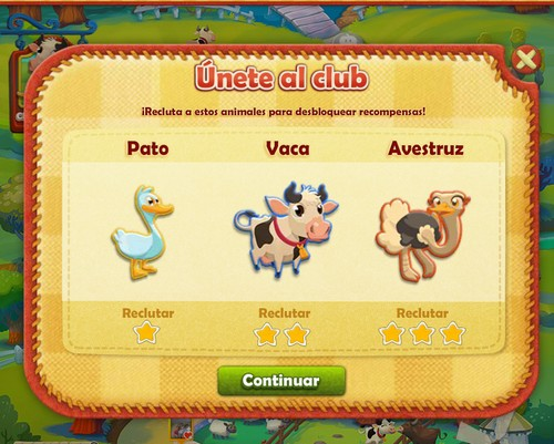 Farm Heroes Saga Nivel 18 Club